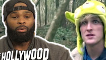 UFC's Tyron Woodley: Logan Paul Is Banned In My House!