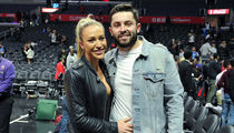 Baker Mayfield Hits 2nd Clippers Game with Hot Chick, Definitely Dating