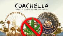 Coachella Not Changed by CA Marijuana Law, Still No Smoking Policy