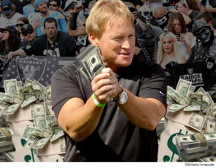 Today's Gruden Grinder goes to JON GRUDEN'S AGENT- who's reportedly landing a $100 MILLION contract for Chucky to coach the Raiders