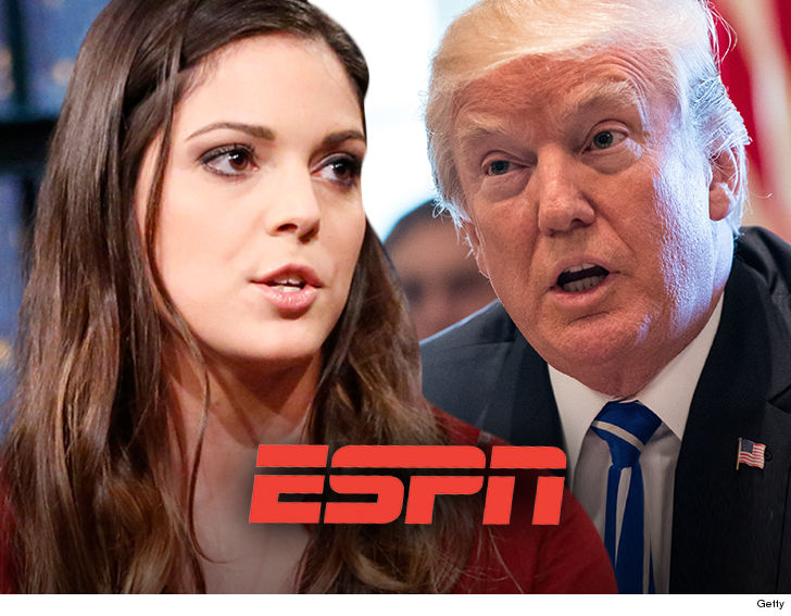 ESPN's Katie Nolan calls Donald Trump a 'stupid person' - WARNING GRAPHIC LANGUAGE