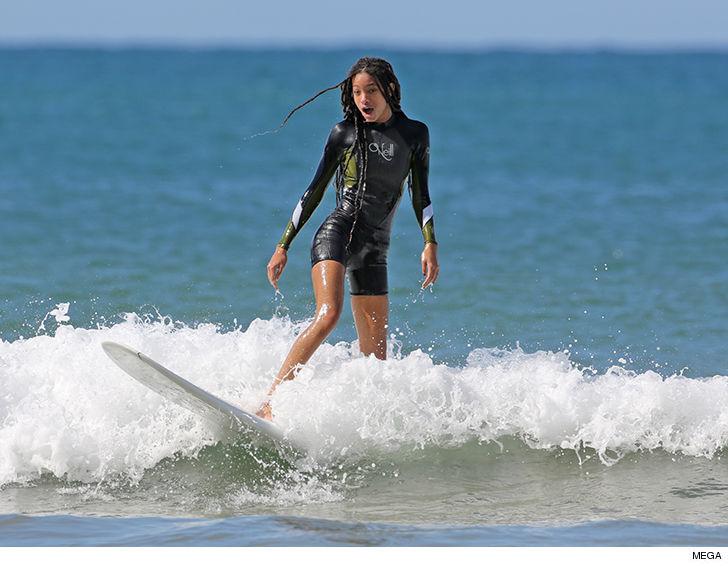 Jaden Smith Tries Mastering Art of Surfing in Hawaii