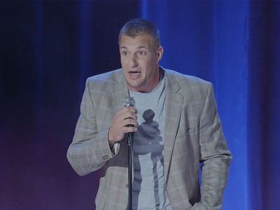 Rob Gronkowski Roasts Tom Brady: You're Nothing Without Me!