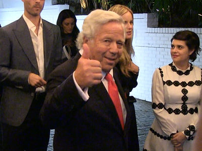 Robert Kraft Chillin' in Hollywood Hours Before Bombshell ESPN Report