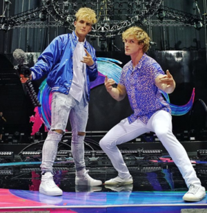 Jake and Logan Paul Together