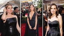 Golden Globes Actresses No Stranger to Black Dresses