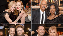 Golden Globes 2018, Smiles Behind the Scenes