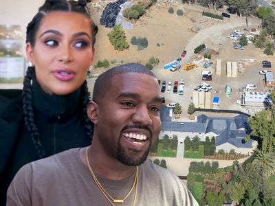 Kanye West and Kim Kardashian Worked with Renowned Designer on New Mansion