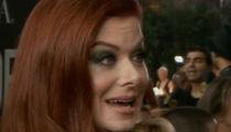 Debra Messing Calls Out E! at Golden Globes for Catt Sadler 'Pay Disparity'