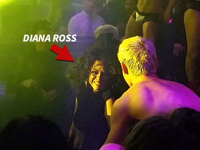 Diana Ross Dances to Diana Ross at The Abbey