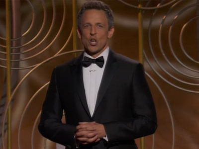 Seth Meyers Slams Harvey Weinstein, Kevin Spacey to Open Golden Globes 2018