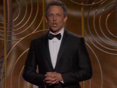 Seth Meyers Slams Harvey Weinstein, Kevin Spacey to Open Golden Globes 2018