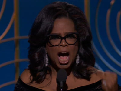 Oprah Delivers Powerful Golden Globes #MeToo Speech for Cecil B. DeMille Award