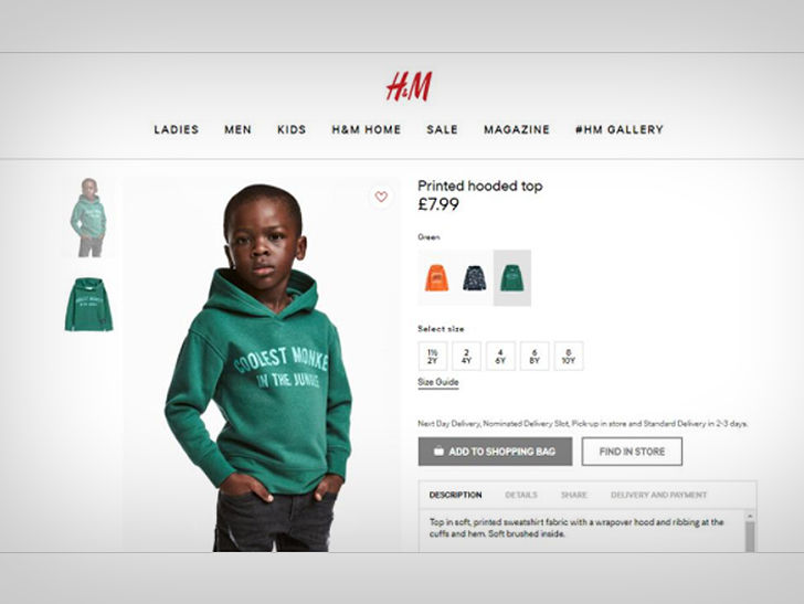 h m blasted for black kid wearing 39 coolest monkey in the jungle 39 hoodie. Black Bedroom Furniture Sets. Home Design Ideas