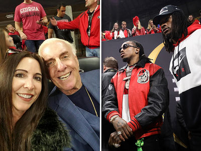 National Championship Game Draws Slew of Celebrities, Not Just Trump and Kendrick