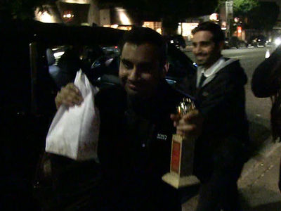 Aziz Ansari Celebrates Golden Globes Victory with In-N-Out