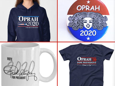 Oprah 2020 Merchandise Already on Sale with So Many Options
