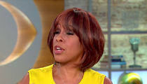 Gayle King Nervously Spins Oprah for President Movement