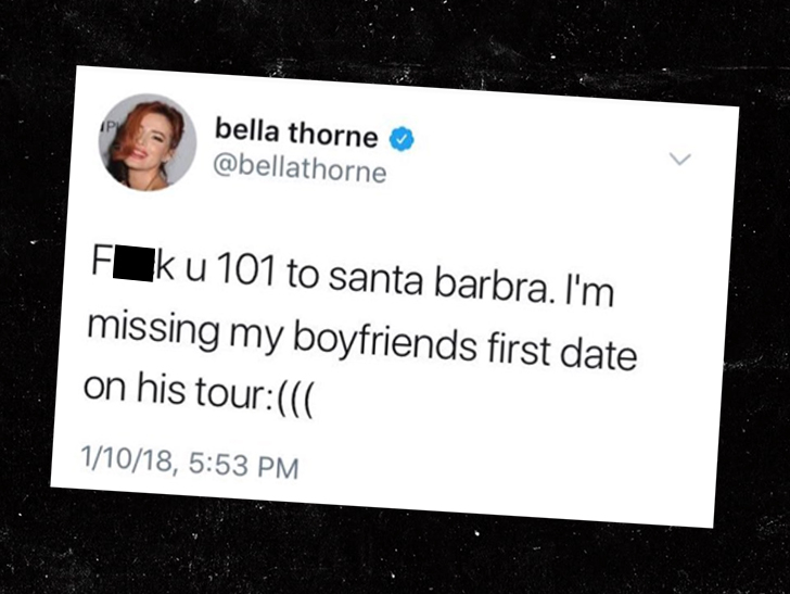 Rob Lowe schools Bella Thorne after insensitive traffic tweet