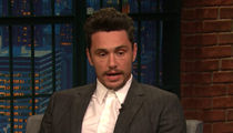 James Franco Uncomfortable on Seth Meyers' Show Talking About Ally Sheedy