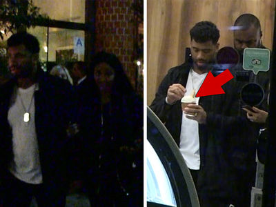 Ciara and Russell Wilson Chow Down Multiple Times in Bev Hills!!!