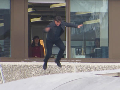 Tom Cruise Makes Second Attempt at 'Mission: Impossible' Stunt After Injury