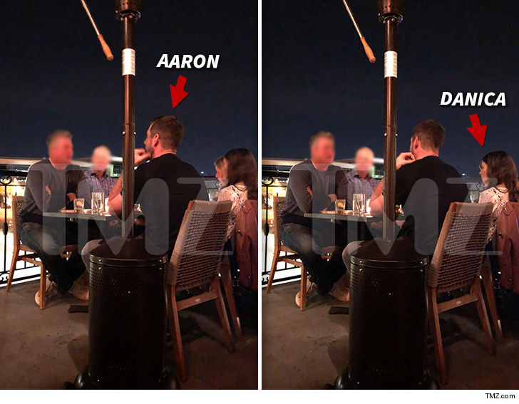 TMZ photo of Aaron Rodgers, Danica Patrick together fuels dating rumors