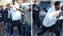 Philadelphia 76ers' Joel Embiid Shoves Eagles Fan During Tailgate