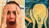 Celebs Take on Google's Arts & Culture App ... See the Famous Doppelgangers!