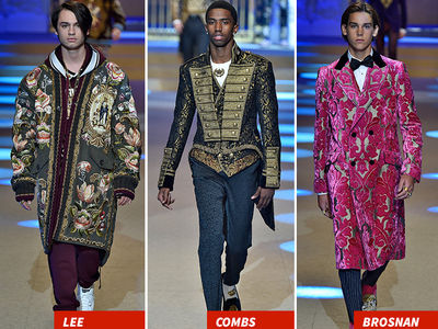 Milan Fashion Week's Dolce & Gabbana Show Featured a Ton of Celeb's Kids