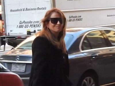 Jill Zarin Arrives for Husband Bobby's Funeral