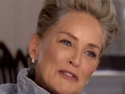 Sharon Stone LAUGHS In Reporter's Face When Asked If She's Been Sexually Harassed