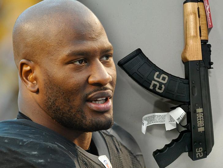 James Harrison: I Got My Own Custom AK-47!