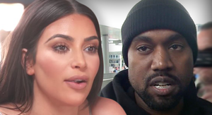 Kim and Kanye Don't Want to Profit By Selling Baby Pics