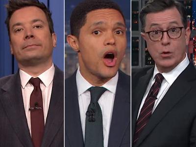 Late-Night SLAMS Trump as 'Sh-thole' Saga Continues -- See Them RAIL on POTUS!