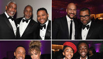 Celebrities Stunt at NAACP Image Awards After-Party