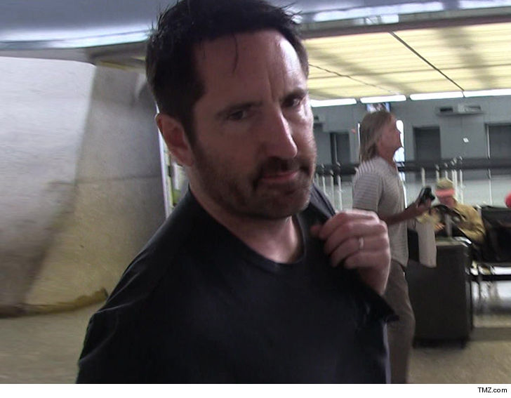 Trent Reznor files for restraining order against neighbour
