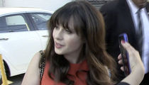 Zooey Deschanel Sued -- You Broke My Horse ... Now Pony Up!!!