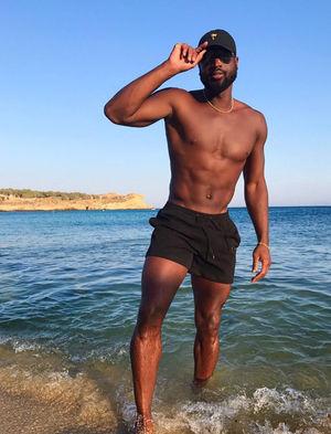 Dwyane Wade's Shirtless Shots