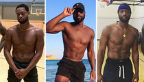 Dwyane Wade's Shredded Shots ... Celebrate The B-day Baller!