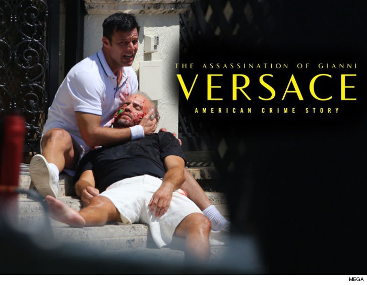 Gianni Versace Real Crime Scene Less Chaotic ... Than Portrayed on 'American Crime Story'