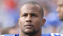 Former NY Giants Star Derrick Ward Accused of Brutality Against Wife
