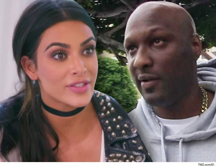 Kim Kardashian Slams Lamar Odom for Visiting Brothels ... After His Khloe Diss