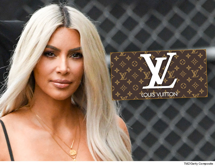 Kim Kardashian Don't be Fooled ... Baby Name's not Louis Vuitton-Themed