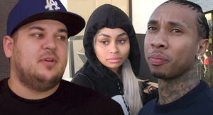 Blac Chyna's House Manager in a Coma, Rob & Tyga Help With Medical Expenses
