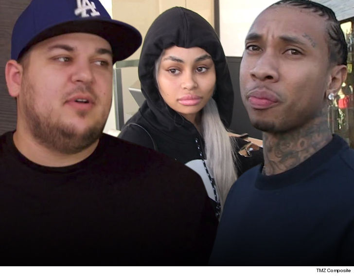 Blac Chyna S House Manager In A Coma Rob Amp Tyga Help With