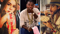 Celebrate National Popcorn Day With These Corny Celeb Shots!