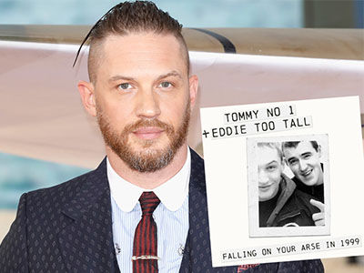 Tom Hardy's 18-Track Rap MIXTAPE From 1999 Is Available for Your Listening Pleasure