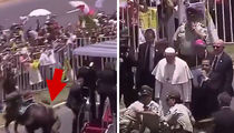 Pope Francis Stops Procession in Chile to Help Police Officer Who Fell Off Her Horse