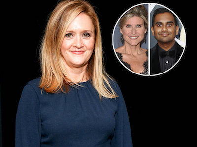 Sam Bee TEARS INTO Ashleigh Banfield for Defending Aziz Ansari and Lecturing Accuser